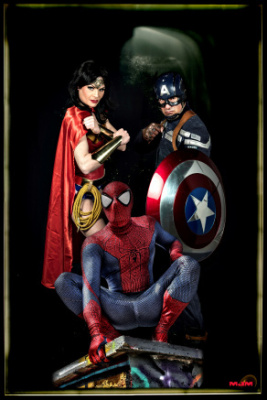 Les Super-Héros protègent le Royal Kids de Roissy-en-Brie