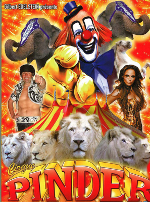 Le Cirque Pinder revient avec un nouveau spectacle