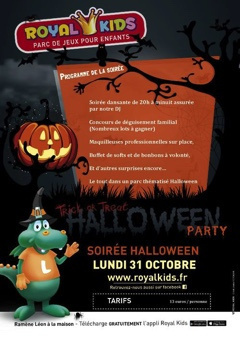 Halloween aux Royal Kids Maurepas