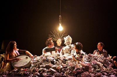 Le Cirque Bouffon présente Solvo au Théâtre des Champs-Elysées