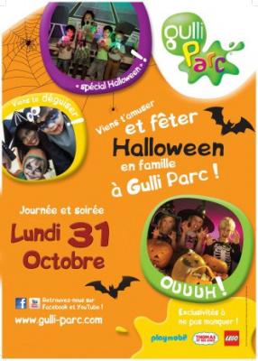 Halloween au Gulli Parc de Bry-sur-Marne