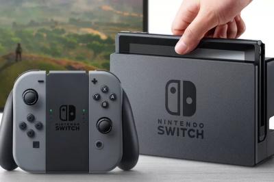 Nintendo présente la Swith