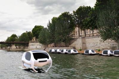 Des Voitures Volantes bientôt dans Paris