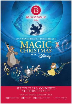 Noël 2016 à Beaugrenelle avec Disney, ateliers et animations gratuites