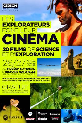 Les Explorateurs font leur Cinéma au Muséum d'Histoire Naturelle