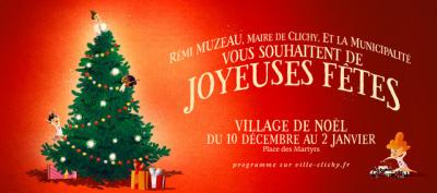 Le Marché de Noël 2016 de Clichy