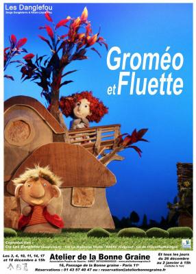 Groméo et Fluette au Théâtre de la Bonne Graine