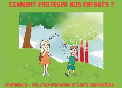 Pollution : comment protéger nos enfants ? : Conférence à la Mairie du 13ème