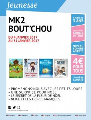 MK2 Bout'chou des films courts pour tout petits à 4€ la place !