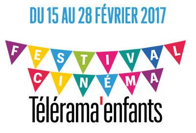 Festival Cinéma Télérama 2017 : 1ere édition pour les enfants