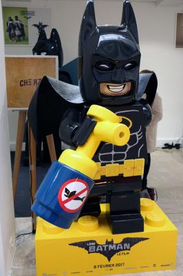 Lego Batman s'invite dans vos centres commerciaux