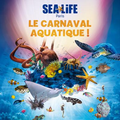 Les Vacances de Février 2017 à l'aquarium Sea Life de Marne la Vallée