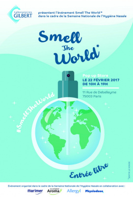 Smell The World, 3ème édition de la Semaine Nationale de l'Hygiène Nasale