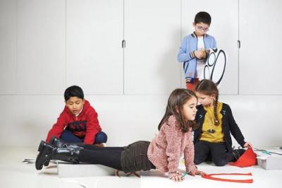 Le Centre Pompidou s'ouvre aux enfants pour les vacances de Pâques 2017
