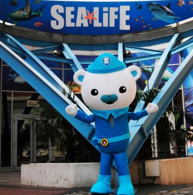 Les Octonauts débarquent à l'aquarium Sea Life pour les Vacances de Pâques 2017
