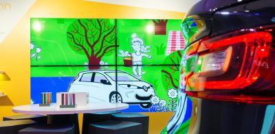 Ateliers Créatifs à l'atelier Renault pour les vacances de Pâques 2017