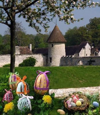 Chasse aux Oeufs de Pâques du Domaine de Villarceaux