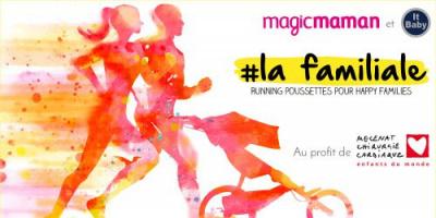 La familiale : la première course de poussettes à Paris