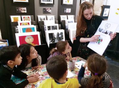 Carré d'Artistes invite vos enfants à un atelier gratuit le 17 mai