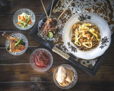 Saveurs & Reflets d'Indonésie au Café de la Paix