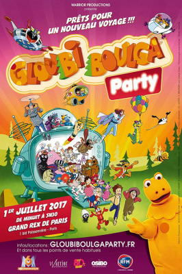 Gloubi Boulga Party au Grand Rex