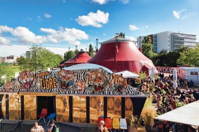Le nouveau tigre restaurant du cirque electrique vous - Le cirque electrique porte des lilas ...