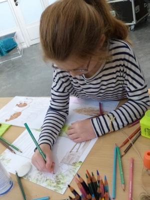 """Atelier gratuit """"Dessine-moi un enclos"""" à la Ménagerie du Jardin des Plantes"""