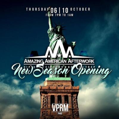 Amazing American Afterwork - New Season Opening