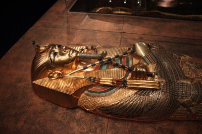 Cercueil intermédiaire de Toutankhamon