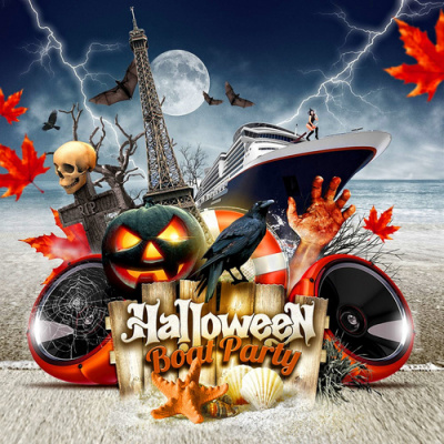 HALLOWEEN BOAT PARTY - CONSO 1€
