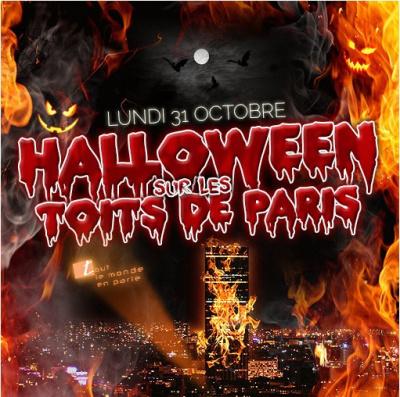 HALLOWEEN SUR LES TOITS DE PARIS (AFTERWORK + SOIREE)