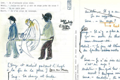 Feuillets d'Audelin, lecture musicale
