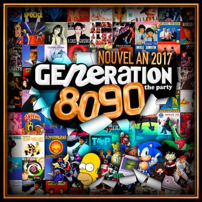 GENERATION 80-90 - Réveillon 2017 (10 CONSOS OFFERTES !)
