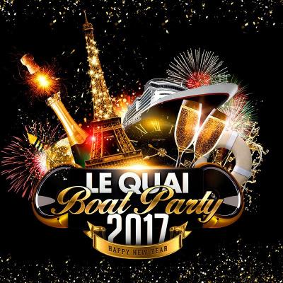 PARIS «BOAT PARTY» 2017 ( Bateau / Terrasse Panoramique Chauffée / All Inclusive )