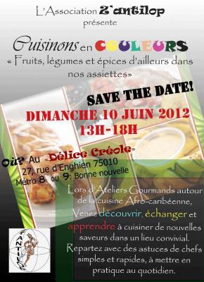 Cuisinons en couleurs : ateliers gourmands autour de la cuisine afro-caribéenne