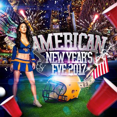 American New Year's Eve (Champs-Elysées 2017)