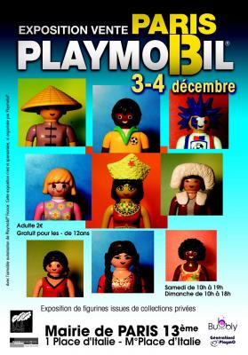 1er Salon du Playmobil, Mairie du 13ème