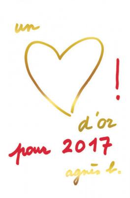 Agnès b lance des cartes de vœux pour l'Unicef
