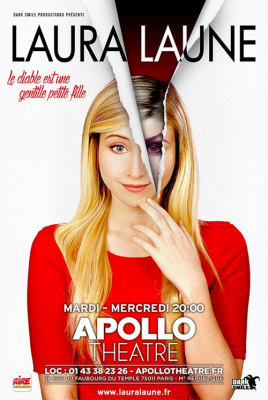 Humour noir avec Laura Laune, actuellement à l'Apollo Théâtre !