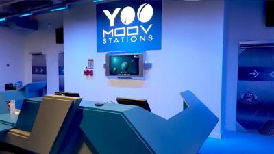 Découvrez le parc d'attraction intergalactique Yoo Moov de la Villette !