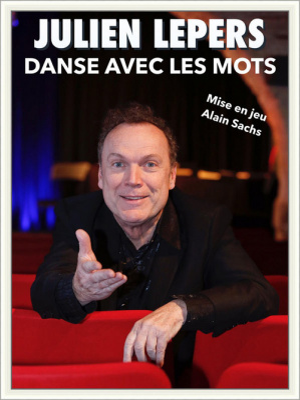 Julien Lepers pour la première fois sur scène aux Feux de la Rampe !