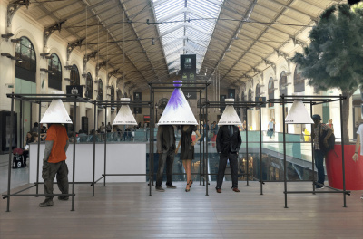 Installations olfactives à la gare Saint-Lazare!