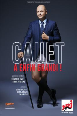 """Cauet joue son nouveau spectacle """"Cauet a grandi"""" à la Cigale"""