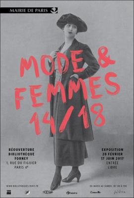 Expo Mode & Femmes 14/18 à la Bibliothèque Forney
