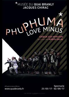 Spectacle Phuphuma Love Minus au Musée du Quai Branly
