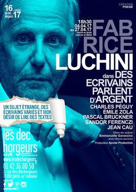Fabrice Luchini joue au Théâtre des Déchargeurs