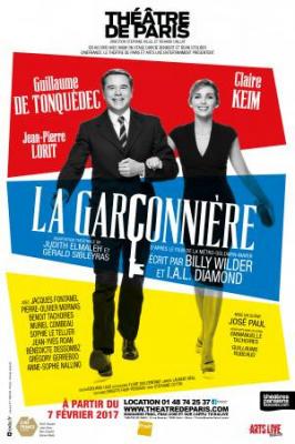 La Garçonnière, de Billy Wilder, au Théâtre de Paris !