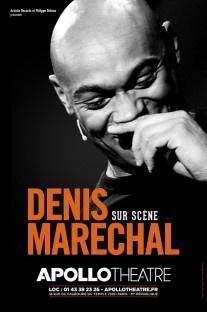 Denis Maréchal de retour sur scène à l'Apollo !