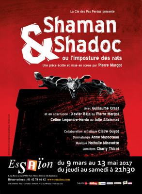 Shaman et Shadoc à l'Essaïon Théâtre