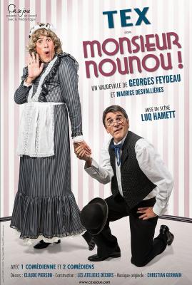 Monsieur Nounou au Théâtre Rive Gauche avec Tex